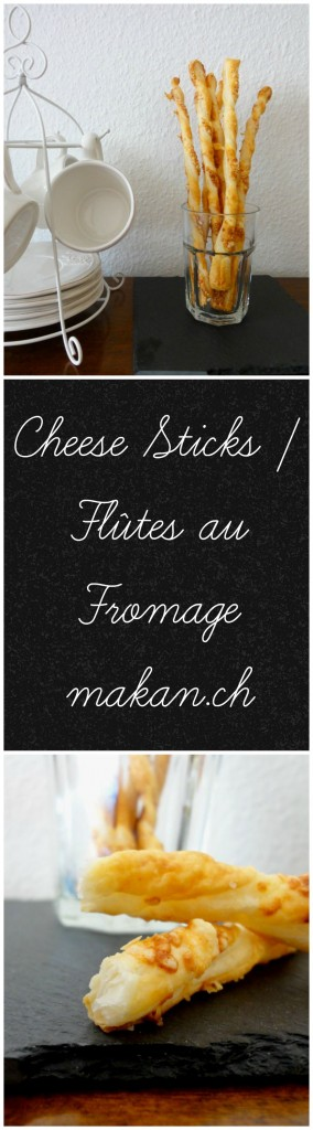 Cheese Sticks Flûtes au Fromage
