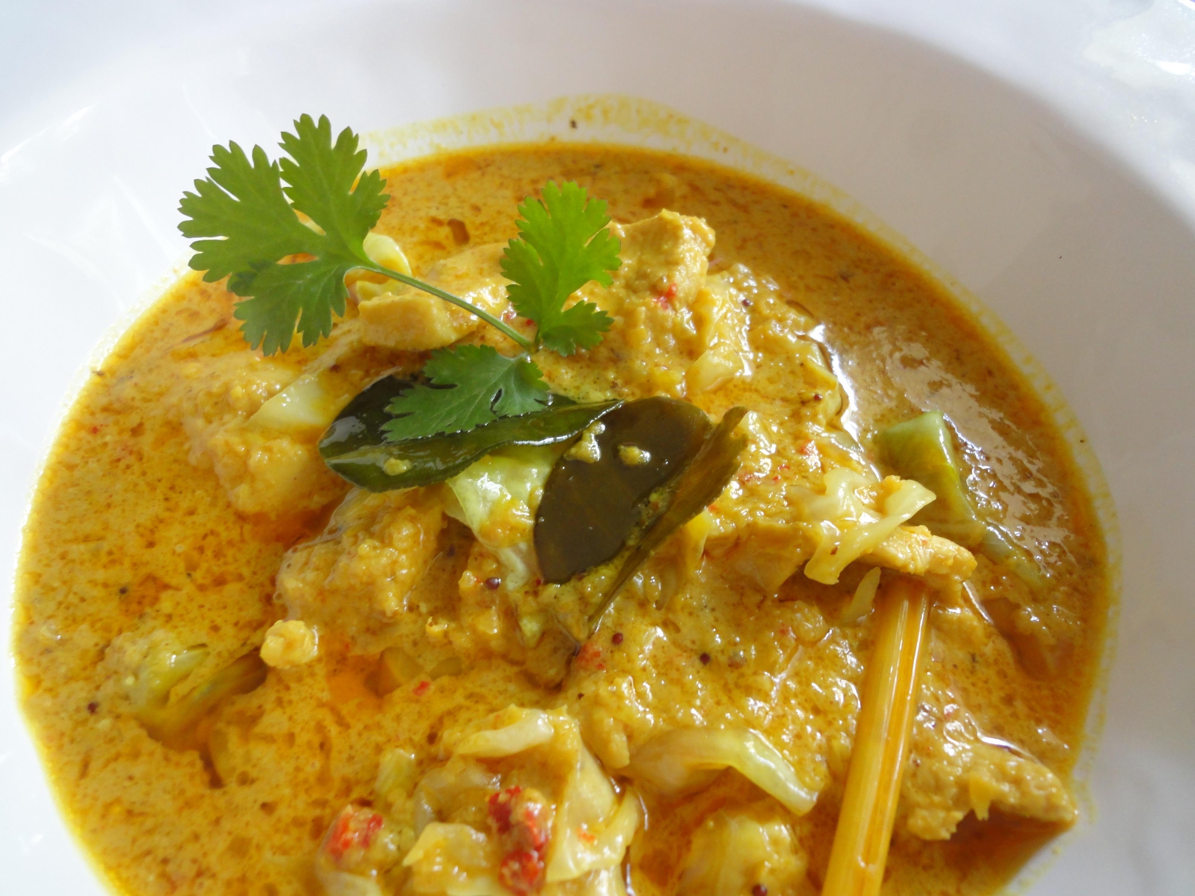 Malaysian Chicken Yellow Curry