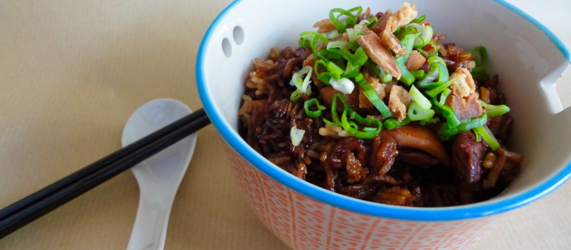 Claypot Chicken Rice, without claypot | Makan with Cherry