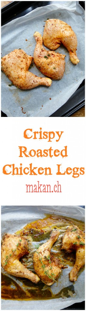 Crispy Roasted Chicken Legs