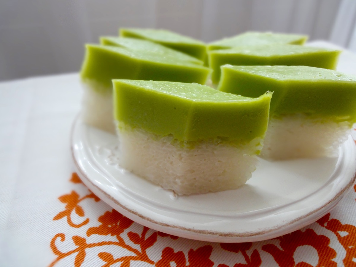 Thai Custard Cake Recipe