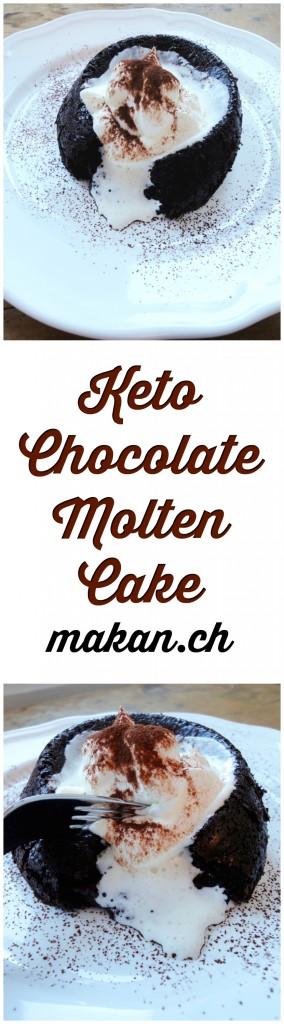 Keto Chocolate Molten Cake