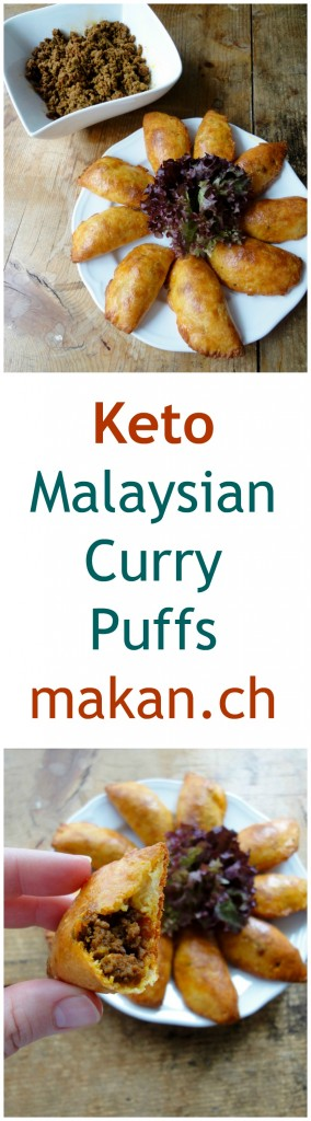 Keto Malaysian Curry Puffs