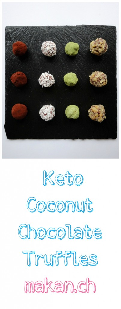 Assorted Keto Coconut Chocolate TrufflesAssorted Keto Coconut Chocolate Truffles